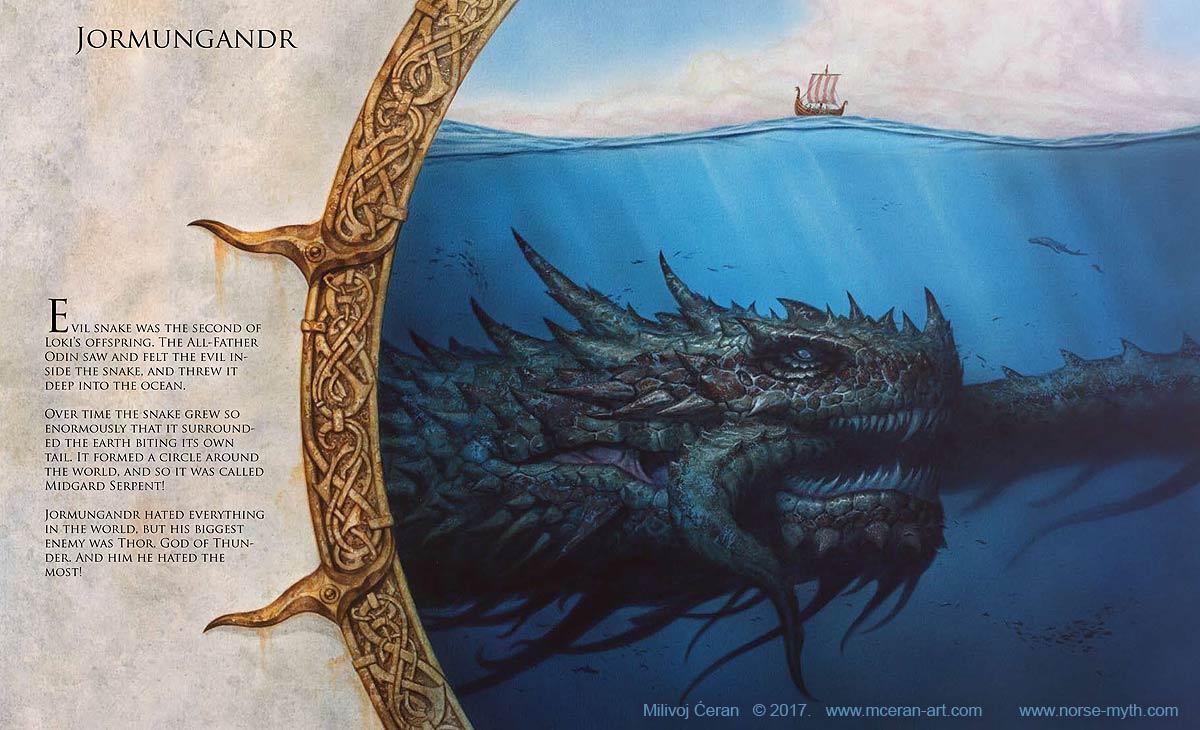Norse Mythology – Art Book by Milivoj Ceran  Norse Mythology...