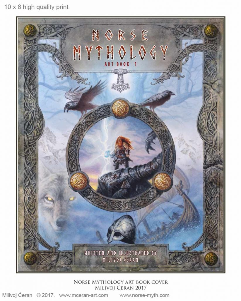 Milivoj Ceran Norse Mythology Cover
