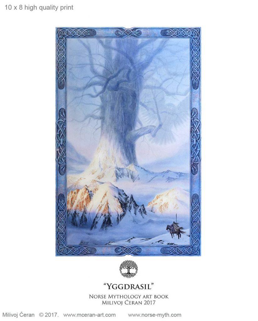 Milivoj Ceran Norse Mythology Cover