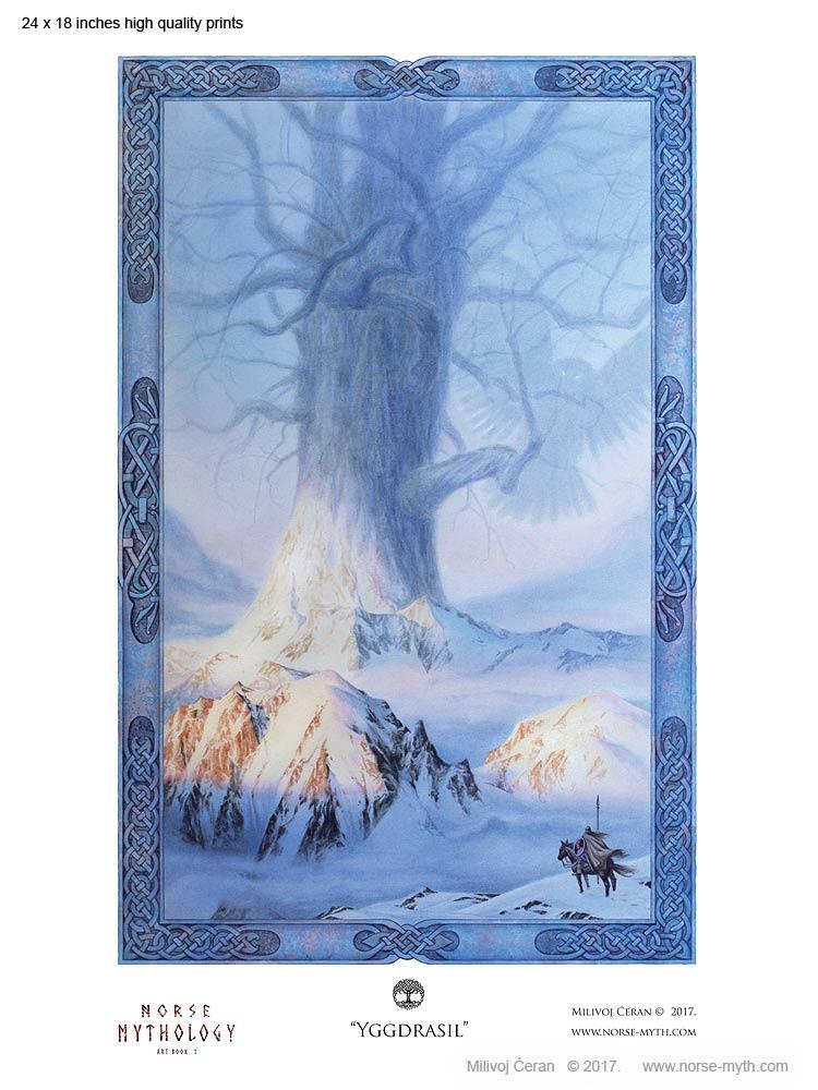 Norse-Mythology-print-005-Yggdrasil-24-x-18