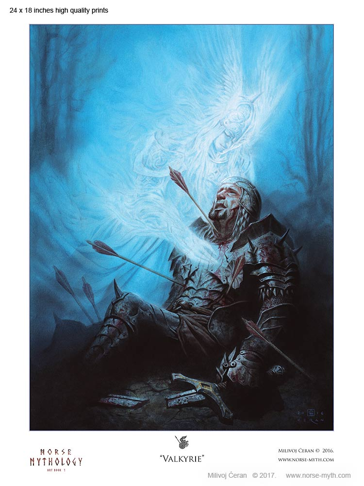 Norse-Mythology-print-008-Valkyrie-24-x-18
