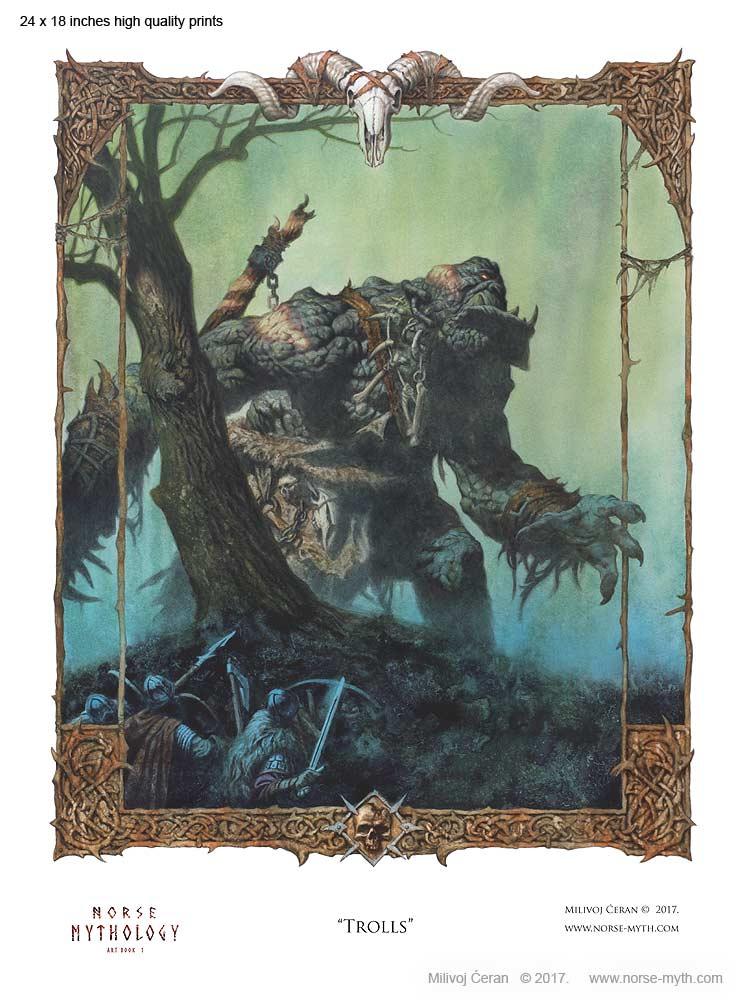 Norse-Mythology-print-009-Trolls-24-x-18